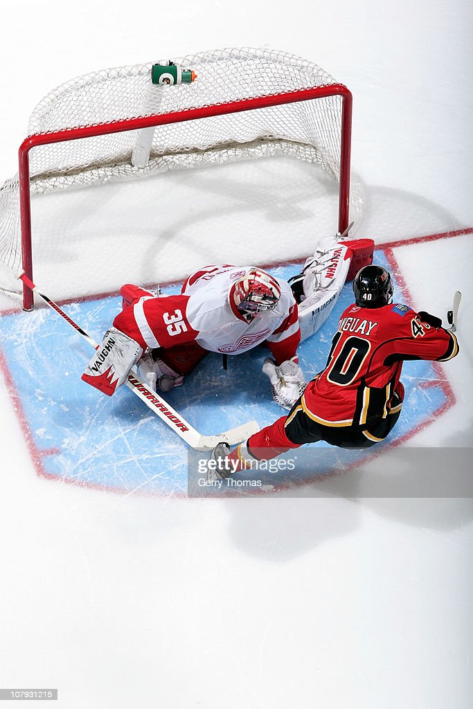 Detroit Red Wings v Calgary Flames