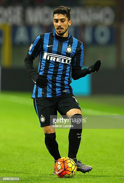 Alex Telles of FC Internazionale Milano in action during the Serie A match between FC Internazionale Milano and Frosinone Calcio at Stadio Giuseppe...