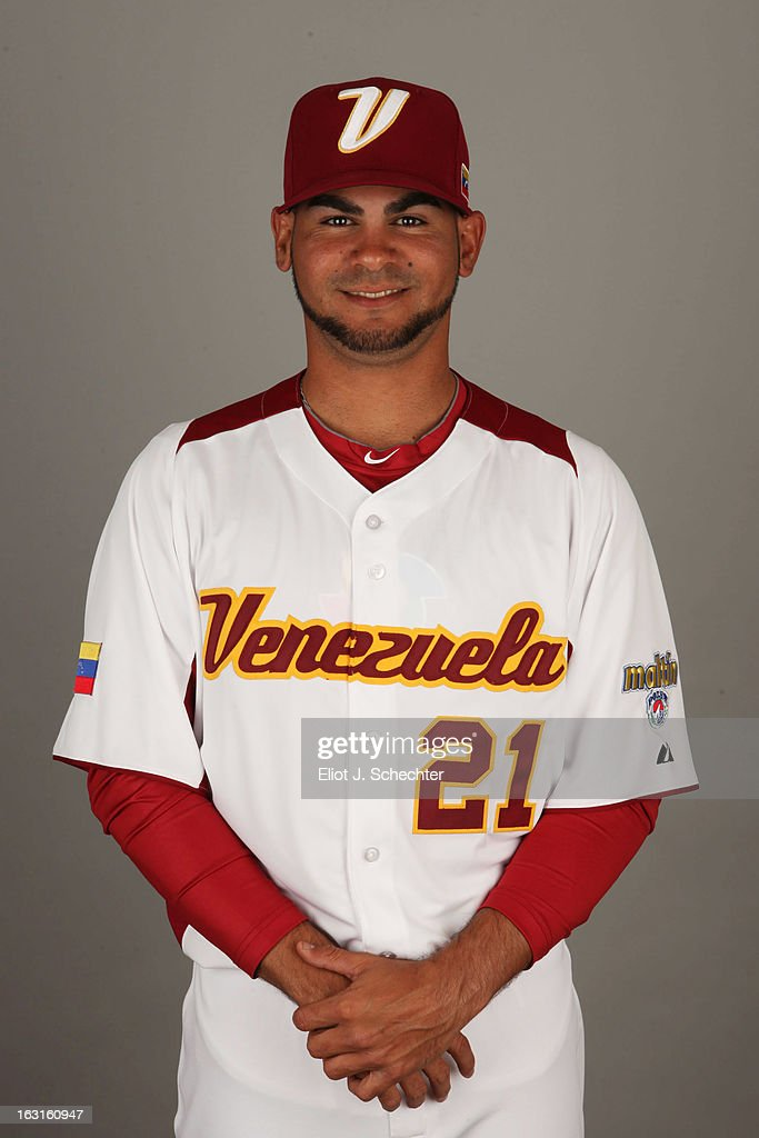 Alex Torres #21 of Team Venezuela poses for a headshot for the 2013 World Baseball Classic at Roger Dean Stadium on Monday, March 4, 2013 in Jupiter, Florida.