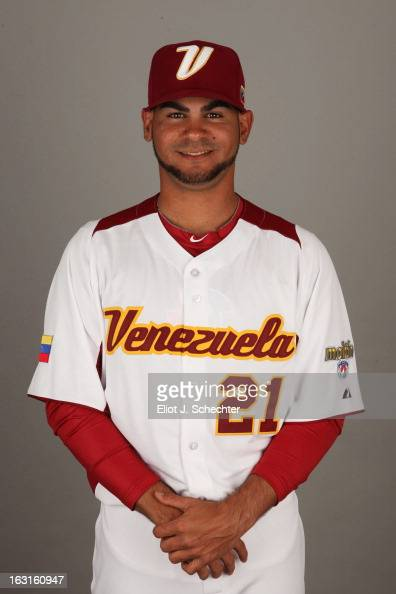 Alex Torres of Team Venezuela poses for a headshot for the 2013 World Baseball Classic at Roger Dean Stadium on Monday March 4 2013 in Jupiter Florida