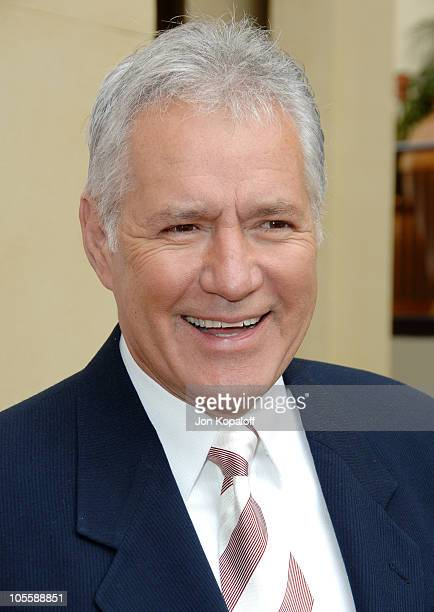 Alex Trebek during The 33rd Annual Daytime Creative Arts Emmy Awards in Los Angeles Arrivals at The Grand Ballroom at Hollywood and Highland in...