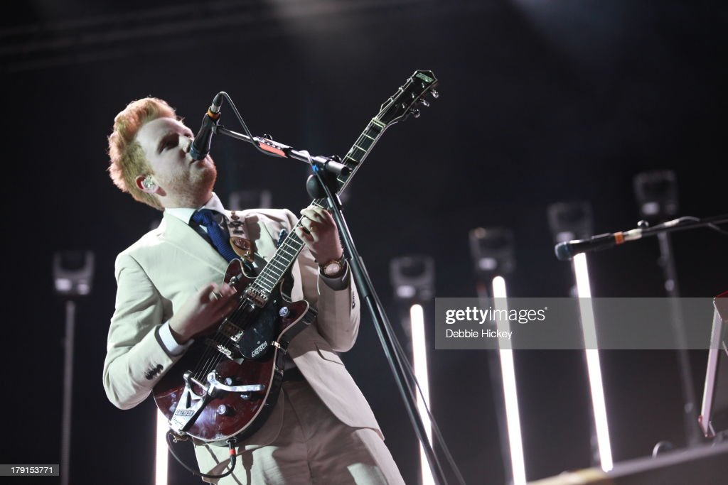 <a gi-track='captionPersonalityLinkClicked' href=/galleries/search?phrase=Alex+Trimble&family=editorial&specificpeople=6920992 ng-click='$event.stopPropagation()'>Alex Trimble</a> of Two Door Cinema Club performs at Day 2 of Electric Picnic at Stradbally Hall Estate on August 31, 2013 in Dublin, Ireland.