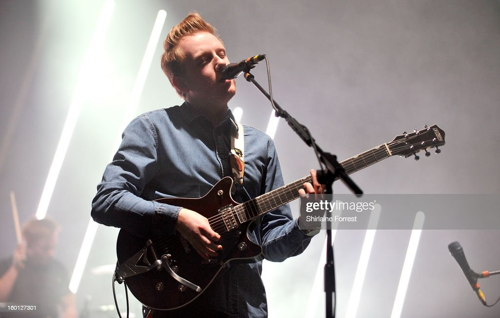 <a gi-track='captionPersonalityLinkClicked' href=/galleries/search?phrase=Alex+Trimble&family=editorial&specificpeople=6920992 ng-click='$event.stopPropagation()'>Alex Trimble</a> of Two Door Cinema Club performs at Manchester Apollo on January 26, 2013 in Manchester, England.