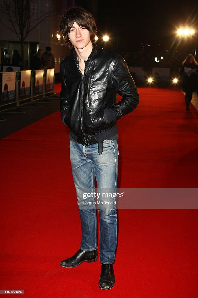 <a gi-track='captionPersonalityLinkClicked' href=/galleries/search?phrase=Alex+Turner&family=editorial&specificpeople=706618 ng-click='$event.stopPropagation()'>Alex Turner</a> attends the UK premiere of 'Submarine' held at The BFI Southbank on March 15, 2011 in London, England.