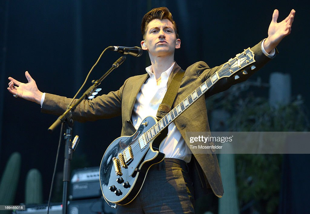 <a gi-track='captionPersonalityLinkClicked' href=/galleries/search?phrase=Alex+Turner&family=editorial&specificpeople=706618 ng-click='$event.stopPropagation()'>Alex Turner</a> of the Arctic Monkeys performs as part of the Day 1 of the Sasquatch! Music Festival at the Gorge Amphitheatre on May 24, 2013 in George, Washington.