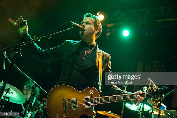 Alex Veale of Tax The Heat performs at KOKO on November 27 2016 in London England