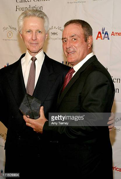 Alex Wallau President of ABC Network Operations and Administration and Al Michaels