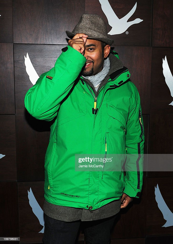 Alex Wilson attends Grey Goose Blue Door Anonymous Content Party on January 19, 2013 in Park City, Utah.
