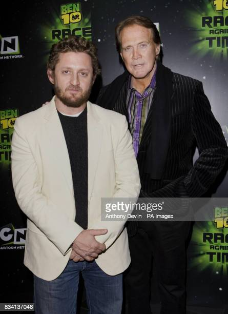 Alex Winter and Lee Majors arrive for the premiere of 'Ben 10 Race Against Time' at the Vue in Leicester Square London