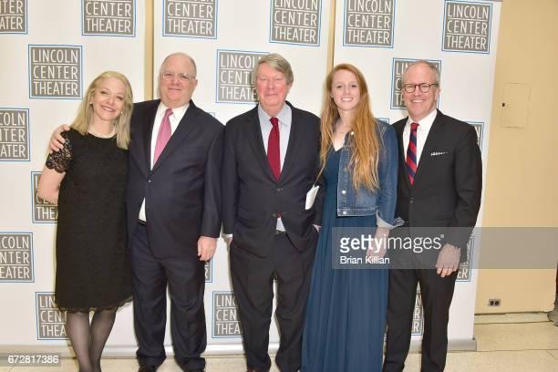 Alex Witchel Frank Rich Artistic Director of Lincoln Center Andre Bishop Katie BishopManning and Peter Manning attend the 2017 Lincoln Center Theater...