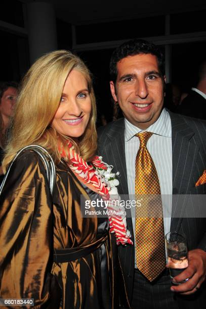Alex Witt and JeanPaul Kyrillos attend TRAVELLEISURE World's Best Awards Party at Cooper Square Hotel on July 21 2009 in New York
