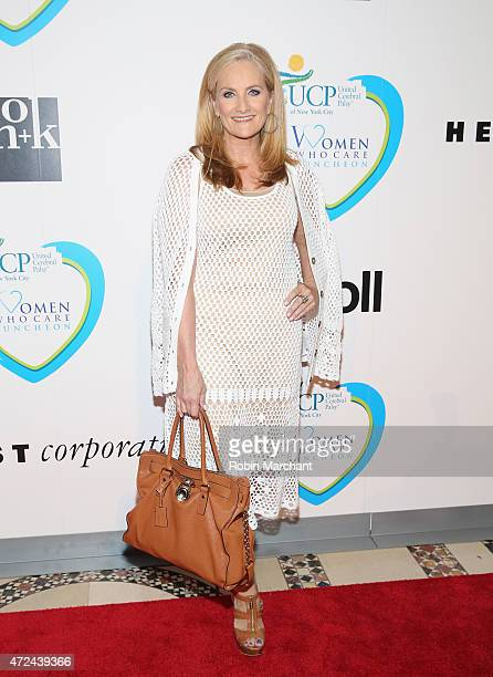 Alex Witt attends 14th Annual Women Who Care Awards Luncheon Benefiting United Cerebral Palsy Of New York City at Cipriani 42nd Street on May 7 2015...