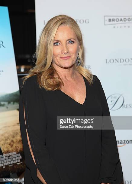 Alex Witt attends 'The Dressmaker' New York Screening at Florence Gould Hall Theater on September 16 2016 in New York City