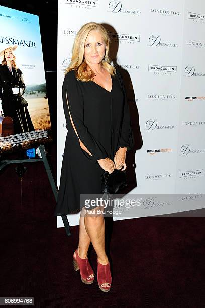 Alex Witt attends the London Fog Presents a New York Special Screening of 'The Dressmaker' at Florence Gould Hall on September 16 2016 in New York...