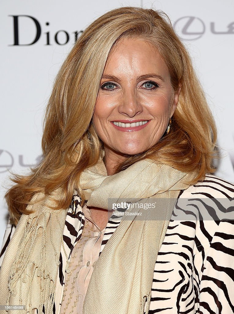 Alex Witt attends the 'Silver Linings Playbook' New York Premiere at Florence Gould Hall on November 11, 2012 in New York City.