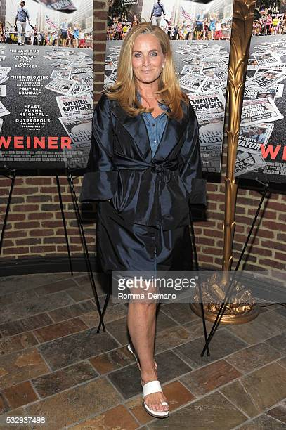 Alex Witt attends the 'Weiner' New York Screening at The Roxy on May 19 2016 in New York City