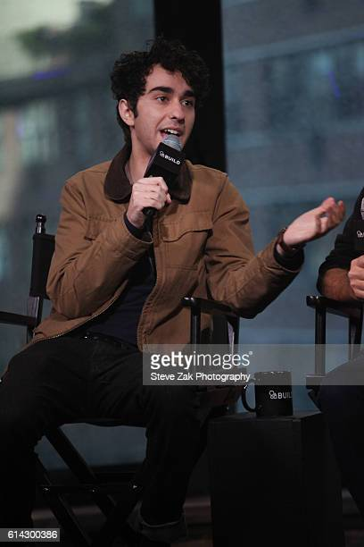Alex Wolff attends Build Series to discuss his new movie 'Coming Through The Rye' at AOL HQ on October 13 2016 in New York City