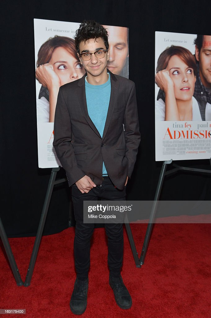 <a gi-track='captionPersonalityLinkClicked' href=/galleries/search?phrase=Alex+Wolff&family=editorial&specificpeople=4183928 ng-click='$event.stopPropagation()'>Alex Wolff</a> attends the 'Admission' New York Premiere at AMC Loews Lincoln Square 13 on March 5, 2013 in New York City.