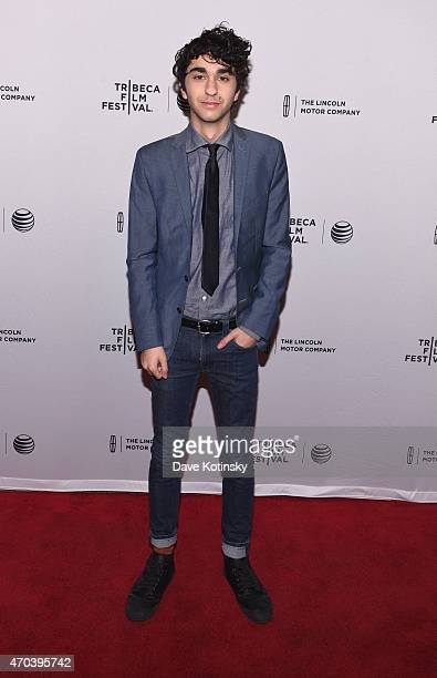 Alex Wolff attends the premiere of 'Ashby' during the 2015 Tribeca Film Festival at the SVA Theater on April 19 2015 in New York City