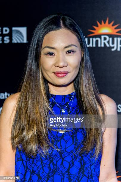 Alex Woo attends Disneynature with the Cinema Society host the premiere of 'Born in China' at Landmark Sunshine Cinema on April 8 2017 in New York...