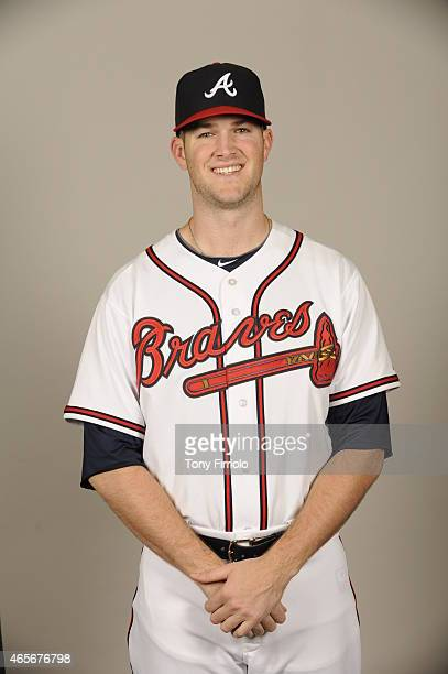 Alex Wood of the Atlanta Braves poses during Photo Day on Monday March 2 2015 at Champion Stadium in Lake Buena Vista Florida