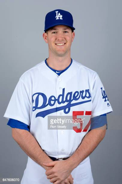 Alex Wood of the Los Angeles Dodgers poses during Photo Day on Friday February 24 2017 at Camelback Ranch in Glendale Arizona