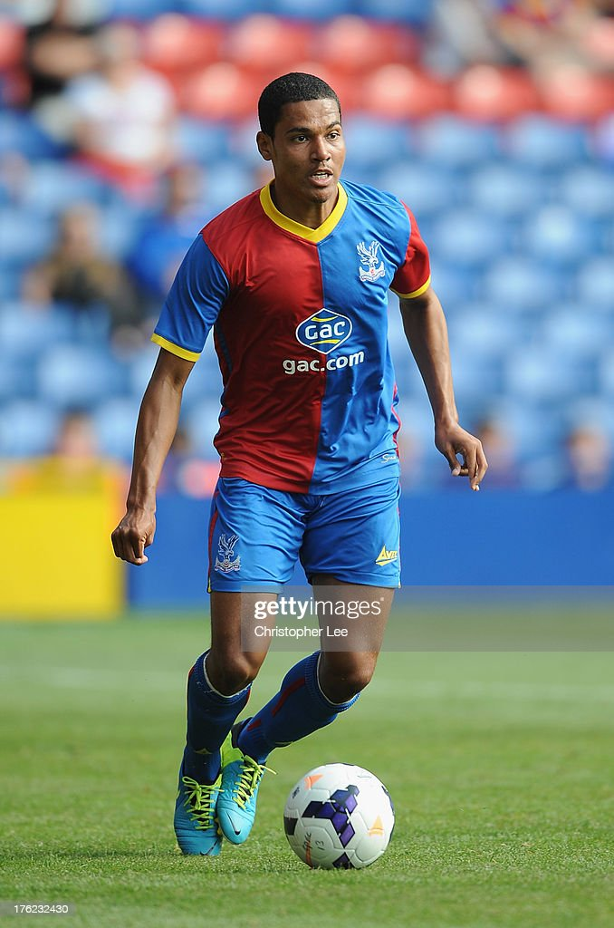 Alex Wynter of Crystal Palace during a Pre Season Friendly between Crystal Palace and Lazio at Selhurst Park on August 10, 2013 in London, England.