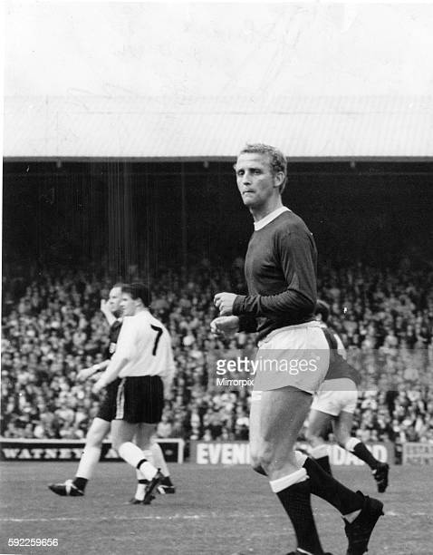 Alex Young Everton football player 19601968 Pictured circa 1965