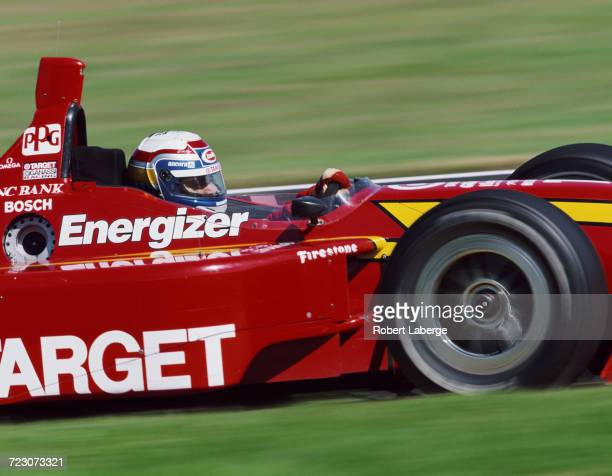 Alex Zanardi of Italy drives the Target Ganassi Racing Reynard 98i Honda during the Championship Auto Racing Teams 1998 FedEx Championship Series...