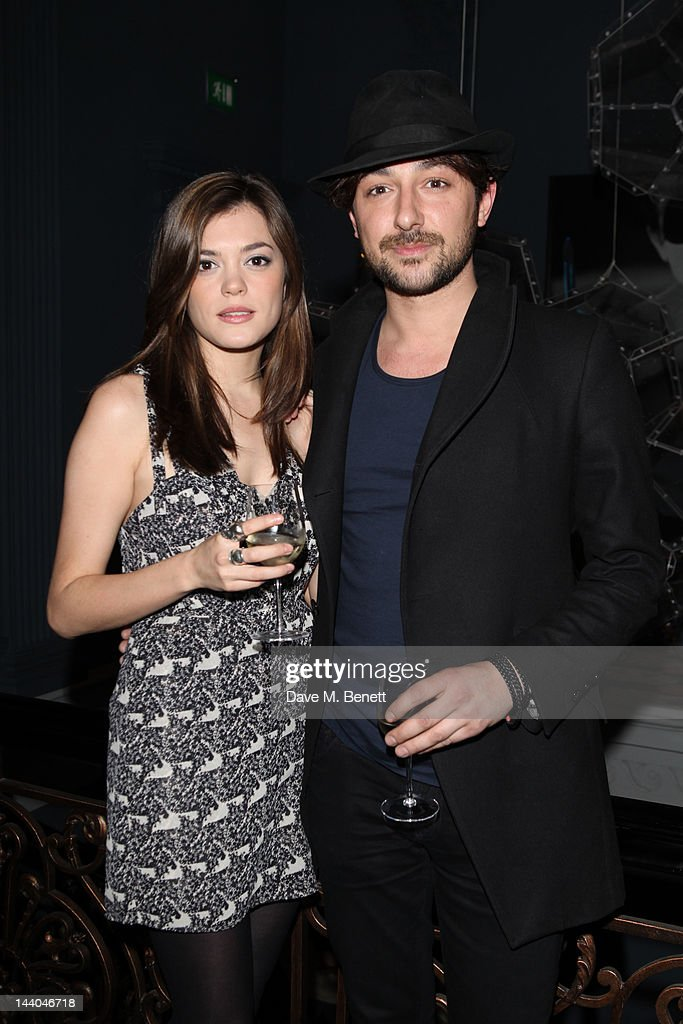 Alex Zane attends a party to launch the book 'Speed of Life,' containing photographs of David Bowie, by Masayoshi Sukita at the Arts Club on May 8, 2012 in Dover St, London.