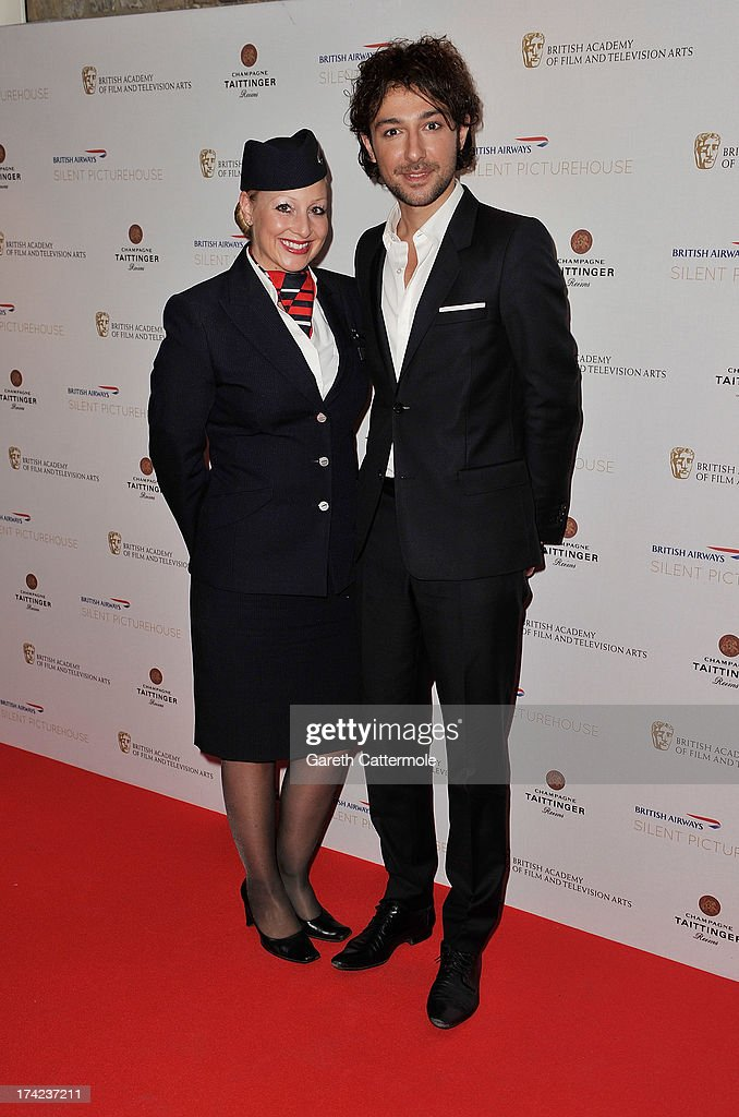 Alex Zane attends the British Airways Silent Picturehouse launch at Vinopolis on July 22, 2013 in London, England.The pop-up film event shows movies that inspire travel.