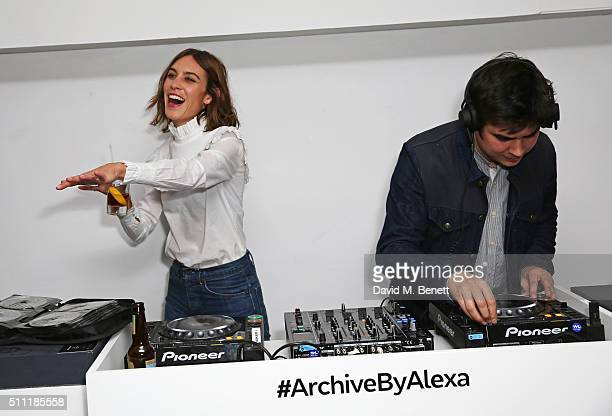 Alexa Chung Stock Photos and Pictures