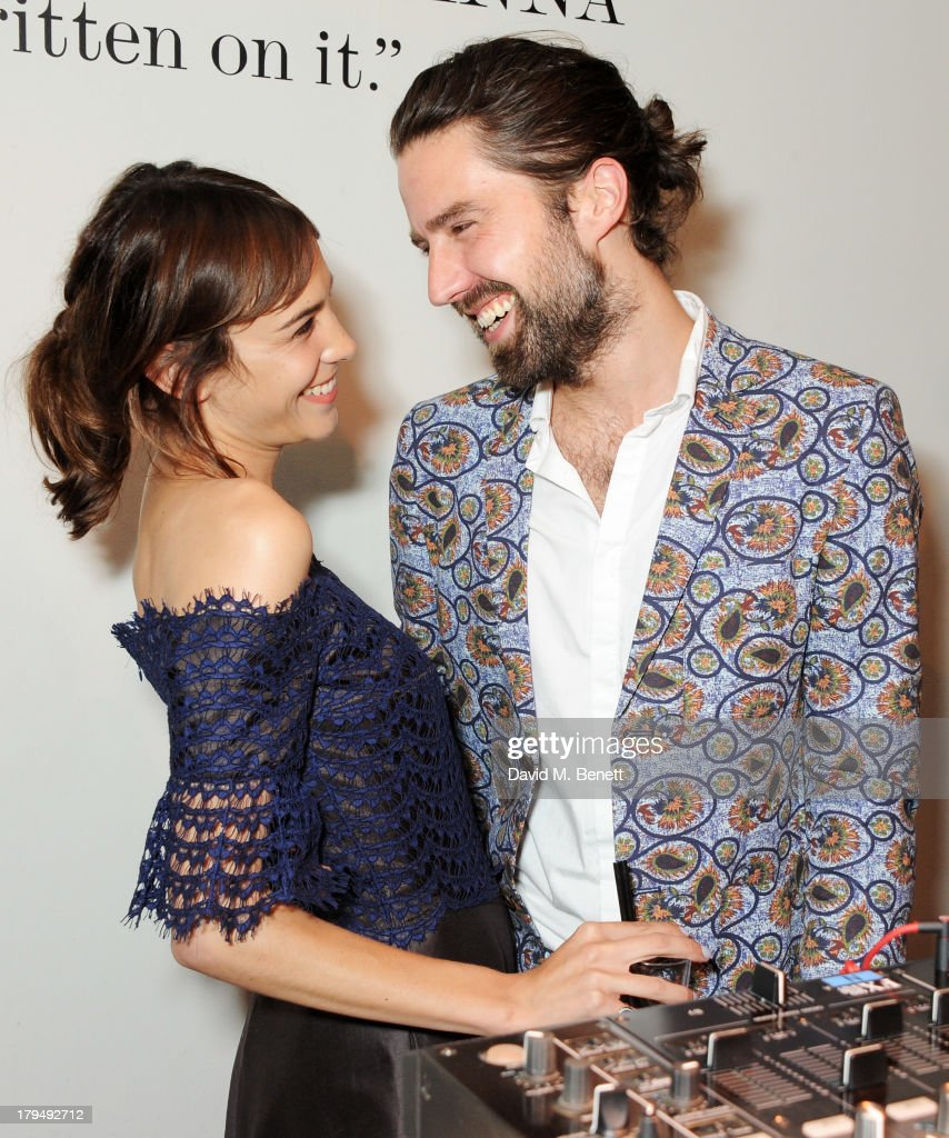 <a gi-track='captionPersonalityLinkClicked' href=/galleries/search?phrase=Alexa+Chung&family=editorial&specificpeople=3141821 ng-click='$event.stopPropagation()'>Alexa Chung</a> (L) and Jack Guinness attend the launch of <a gi-track='captionPersonalityLinkClicked' href=/galleries/search?phrase=Alexa+Chung&family=editorial&specificpeople=3141821 ng-click='$event.stopPropagation()'>Alexa Chung</a>'s first book 'It' at Liberty on September 4, 2013 in London, England.