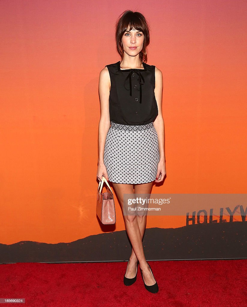 <a gi-track='captionPersonalityLinkClicked' href=/galleries/search?phrase=Alexa+Chung&family=editorial&specificpeople=3141821 ng-click='$event.stopPropagation()'>Alexa Chung</a> arrives at the 2013 Whitney Gala and Studio Party at Skylight at Moynihan Station on October 23, 2013 in New York City.