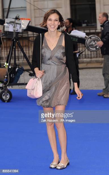 Alexa Chung arrives at the Royal Academy of Arts Summer Exhibition Preview Party 2009 at Royal Academy of Arts Burlington House in Piccadilly central...