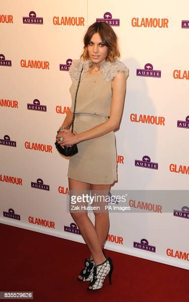 Alexa Chung arriving at the Glamour Woman of the Year Awards 2009 at Berkeley Square Gardens W1