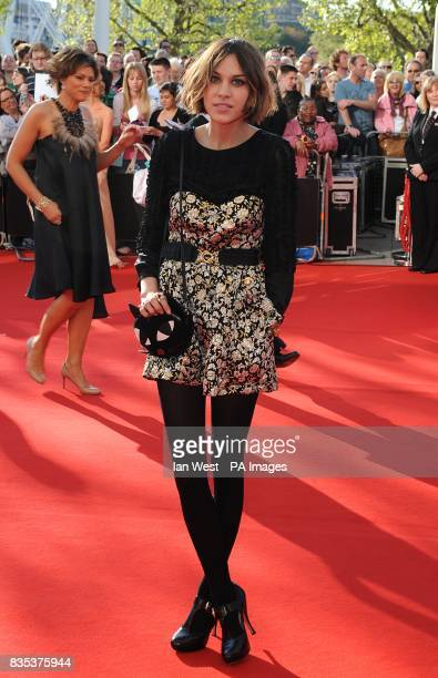 Alexa Chung arriving for the British Academy Television Awards at the Royal Festival Hall in central London