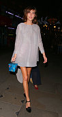 Alexa Chung at Cafe Royal hotel on December 1 2014 in London England