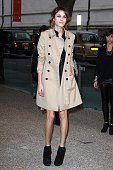 Alexa Chung at the Burberry Closing Party for London Fashion Week Spring Summer 2010 Arrivals on September 22 2009 in London United Kingdom