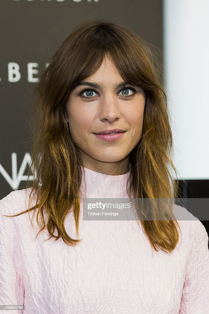 <a gi-track='captionPersonalityLinkClicked' href=/galleries/search?phrase=Alexa+Chung&family=editorial&specificpeople=3141821 ng-click='$event.stopPropagation()'>Alexa Chung</a> attends a photocall to launch her Alexa Manicure collection with Nails Inc at Debenhams on August 14, 2014 in London, England.
