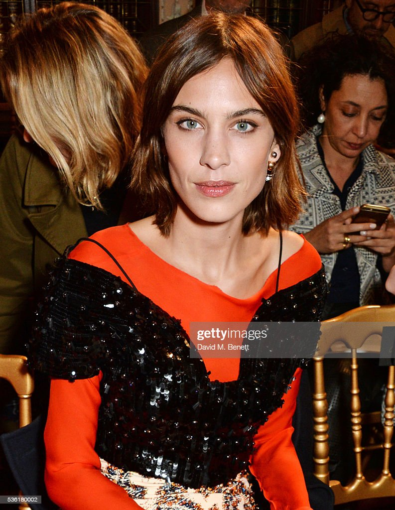<a gi-track='captionPersonalityLinkClicked' href=/galleries/search?phrase=Alexa+Chung&family=editorial&specificpeople=3141821 ng-click='$event.stopPropagation()'>Alexa Chung</a> attends as Christian Dior showcases its spring summer 2017 cruise collection at Blenheim Palace on May 31, 2016 in Woodstock, England.