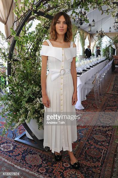 Alexa Chung attends as Piaget celebrates the new Possession collection on May 14 2015 at The NoMad Hotel in New York City