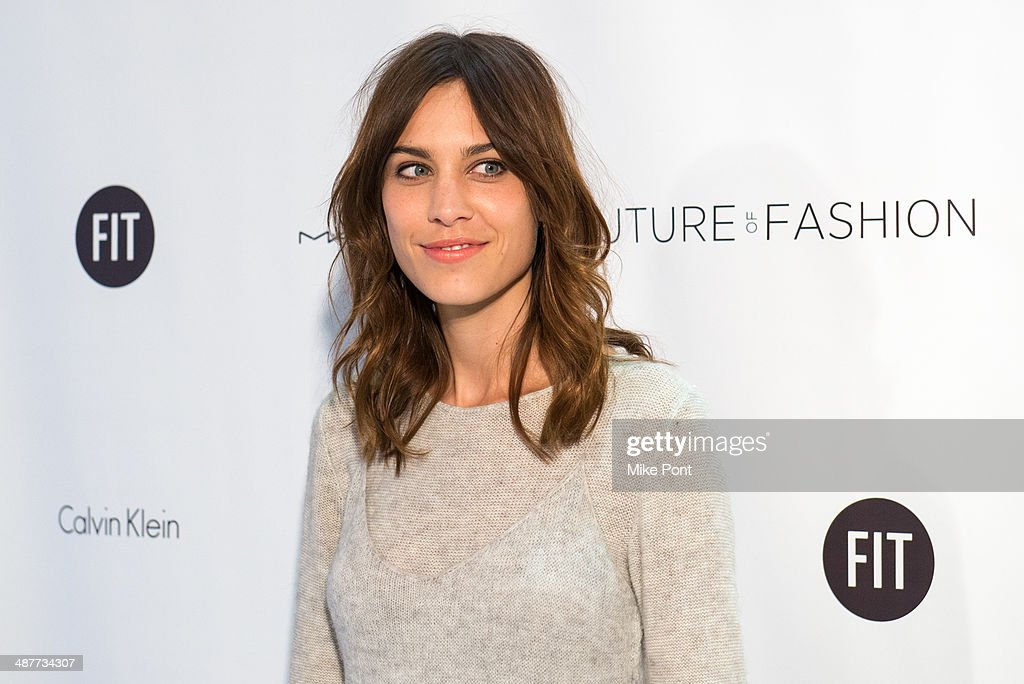 Alexa Chung attends FIT's The Future Of Fashion Runway Show at The Fashion Institute of Technology on May 1, 2014 in New York City.