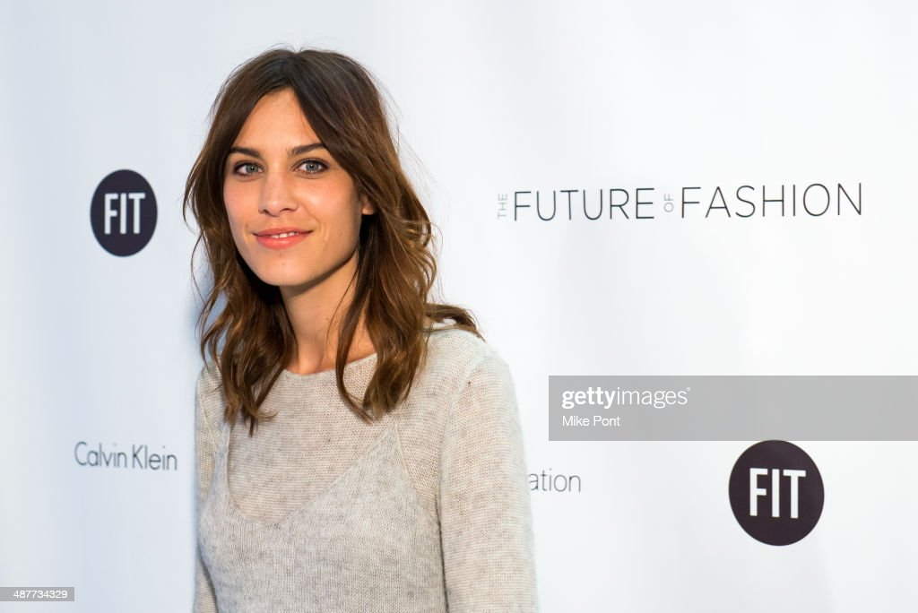 <a gi-track='captionPersonalityLinkClicked' href=/galleries/search?phrase=Alexa+Chung&family=editorial&specificpeople=3141821 ng-click='$event.stopPropagation()'>Alexa Chung</a> attends FIT's The Future Of Fashion Runway Show at The Fashion Institute of Technology on May 1, 2014 in New York City.