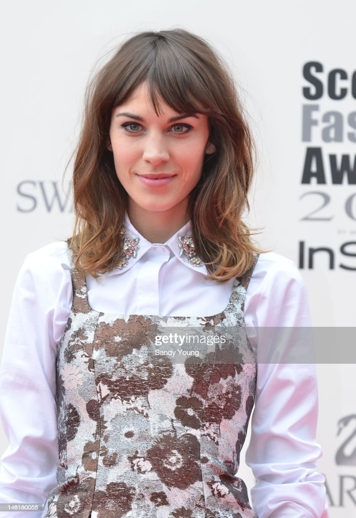 Alexa Chung attends Scotland's most high-profile celebration of fashion and style which recognises scottish designers who have made a significant contribution to the industry at The Clyde Auditorium on June 11, 2012 in Glasgow, Scotland.