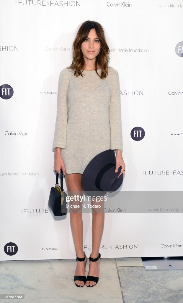 <a gi-track='captionPersonalityLinkClicked' href=/galleries/search?phrase=Alexa+Chung&family=editorial&specificpeople=3141821 ng-click='$event.stopPropagation()'>Alexa Chung</a> attends the 2014 Future Of Fashion Runway Show at The Fashion Institute of Technology on May 1, 2014 in New York City.