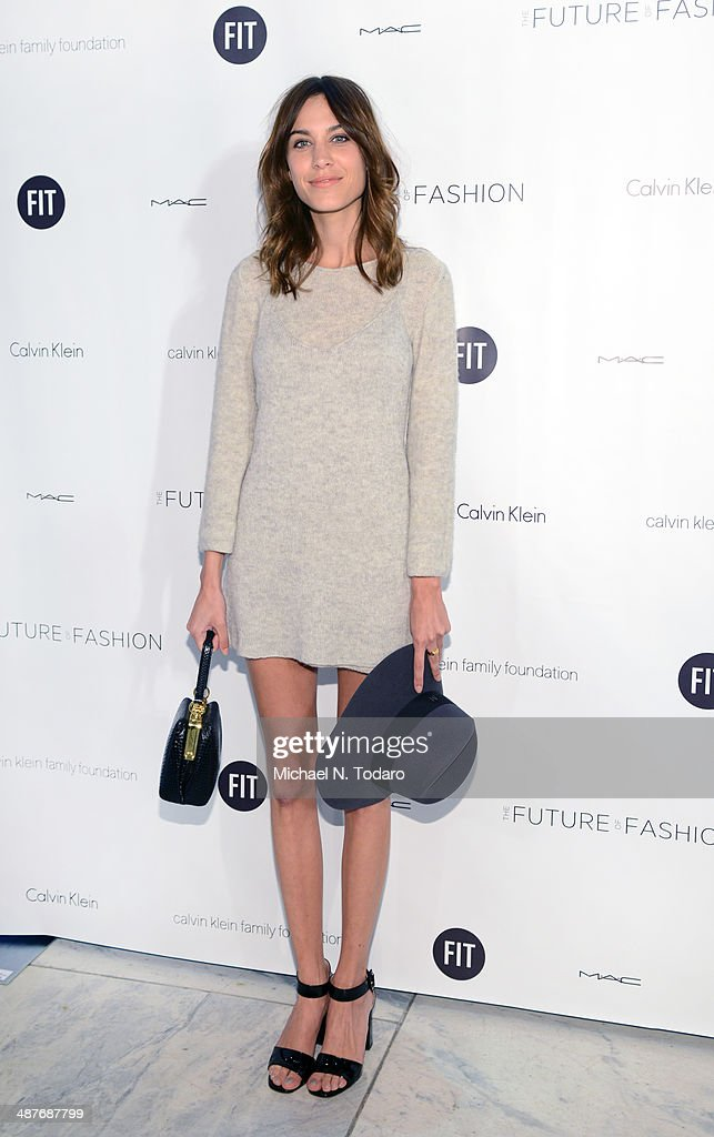 Alexa Chung attends the 2014 Future Of Fashion Runway Show at The Fashion Institute of Technology on May 1, 2014 in New York City.