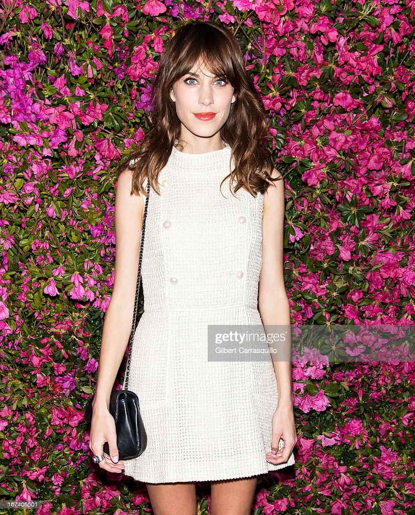 <a gi-track='captionPersonalityLinkClicked' href=/galleries/search?phrase=Alexa+Chung&family=editorial&specificpeople=3141821 ng-click='$event.stopPropagation()'>Alexa Chung</a> attends the 8th annual Chanel Artists Dinner during the 2013 Tribeca Film Festival at The Odeon on April 24, 2013 in New York City.