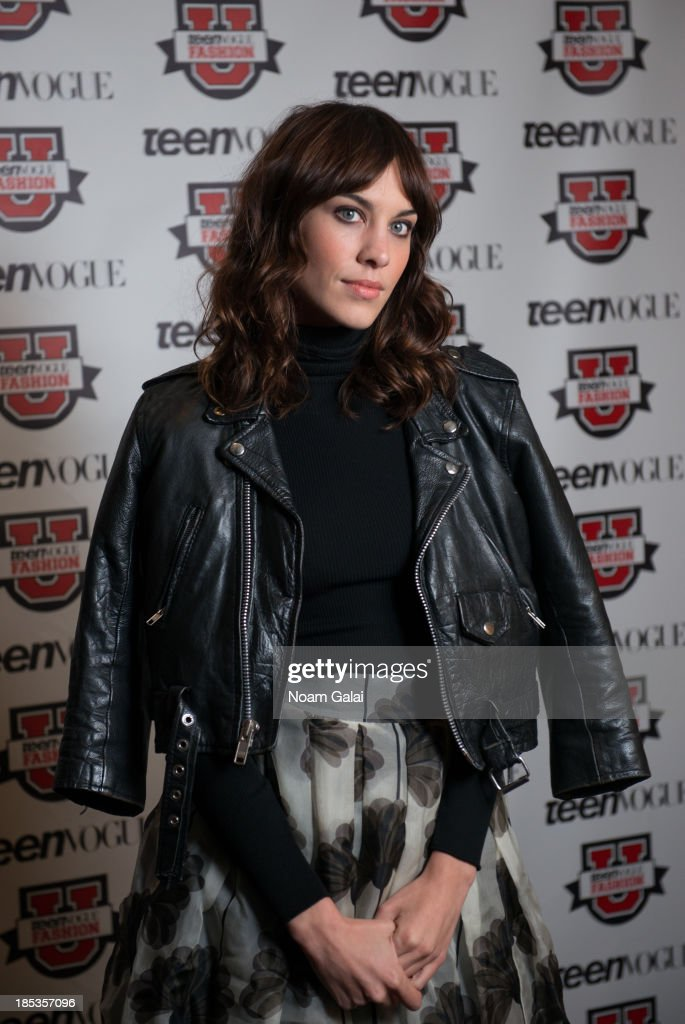 <a gi-track='captionPersonalityLinkClicked' href=/galleries/search?phrase=Alexa+Chung&family=editorial&specificpeople=3141821 ng-click='$event.stopPropagation()'>Alexa Chung</a> attends the 8th Annual Teen Vogue University on October 19, 2013 in New York City.