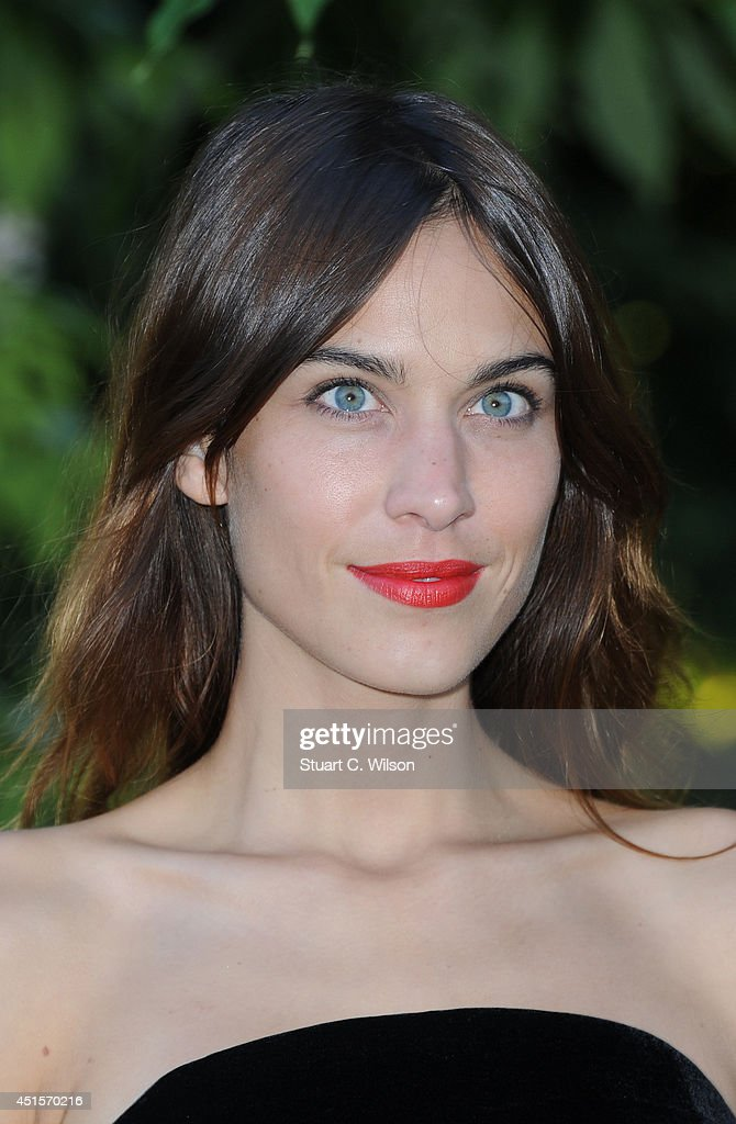 Alexa Chung attends the annual Serpentine Galley Summer Party at The Serpentine Gallery on July 1, 2014 in London, England.
